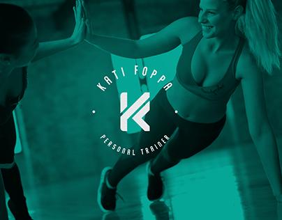 Logotipo da personal trainer Kati Foppa