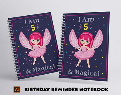 Birthday reminder notebook