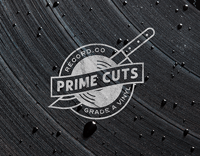 Prime Cuts Record Co. - Website and Branding