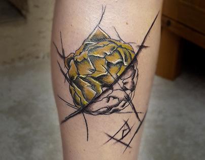 L'artichaut graphique Tattoo