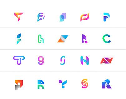 Modern Letter Logo Collection 2021.