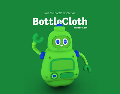 BottleCloth: identity & promotional strategy