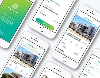 Property App | UI/UX Design for Property Apps.