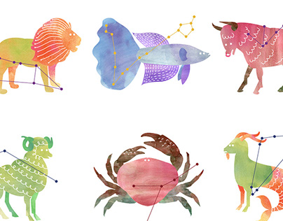 Zodiac Greeting Cards