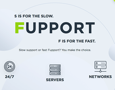 Fupport.com Landing Page