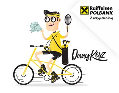 Dany Kesz for Raiffeisen POLBANK