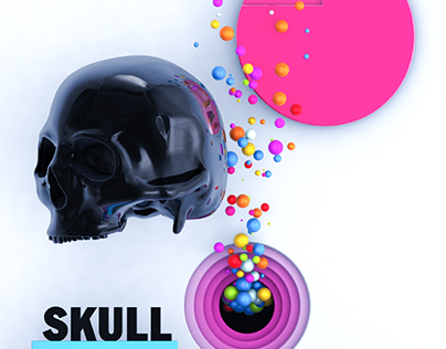 Skull and Colour