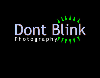Dont Blink Logo