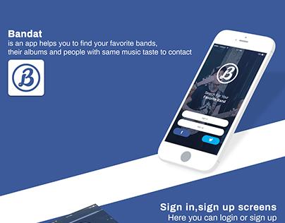 Bandat app
