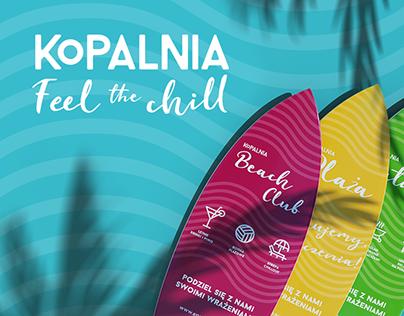 visual communication & social media for Kopalnia