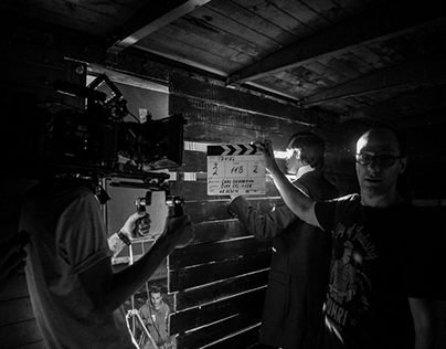 "Backstage Photography / ""Taniel"" short film"