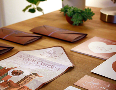 Angels Garden Dekoshop Corporate Identity