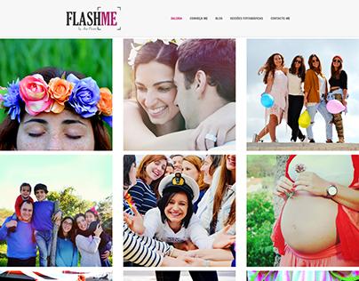 WebSite - FlashMe by Ana Paixão