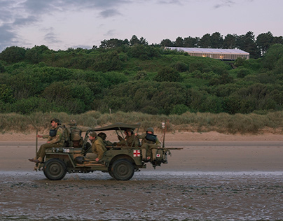 75 Years D-Day - A Mini Photo Series from Omaha Beach