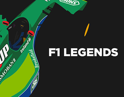 Illustrations of F1 cars from 3 different decades