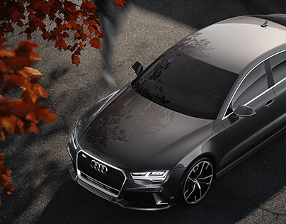 Audi RS7 - Full CGI