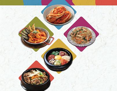Poster Design - Rendezvous Korean Cuisine 2016