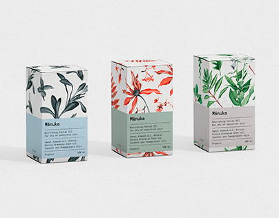 Watercolor Illustrations for packaging