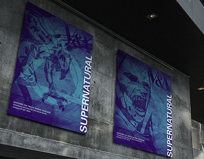 Supernatural V&A Event Branding Project