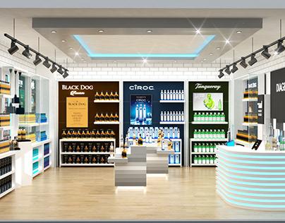 Diageo Retail Store Design Concept