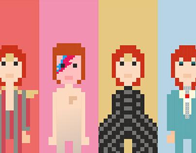 David Bowie | Life in pixel