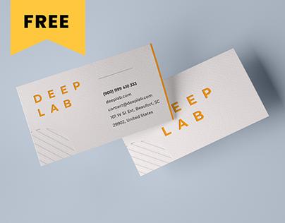 Realistic Business Card Mockup Set - FREE