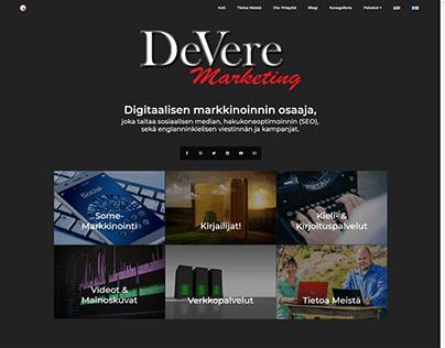 Multi-language Wordpress Website for DeVere Marketing