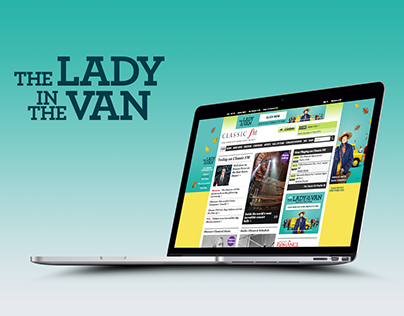 HPTO Banners: The Lady In The Van