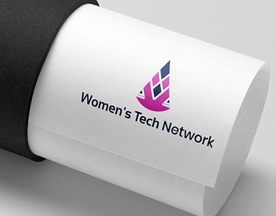WOMENS TECH NETWORK LOGO DESIGN