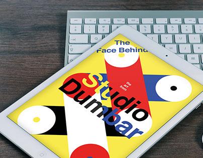 Digital Publication about Studio Dumbar