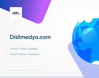 Dişli Medya Topic Design