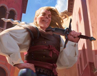 Famous Swordsman