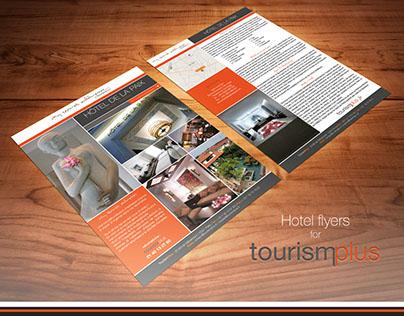 Hotels tech sheets for TourismPlus