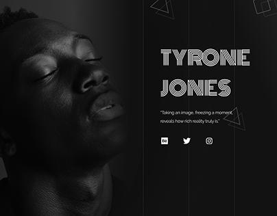 Tyrone Jones (web portfolio)