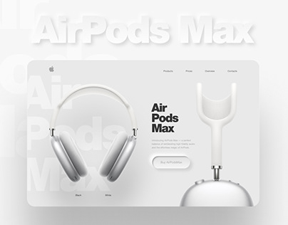 Concept AirPods Max (for Yudaev.School)