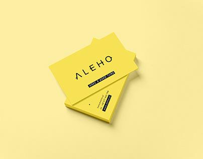 Aleho_online lifestyle shop branding