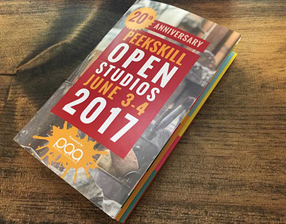 Peekskill Open Studios Booklet and Map