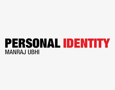 Personal Identity | Manraj Ubhi