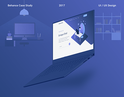 Personal Brand (Landing Page, UI/UX)