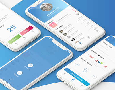 Restyling app PayPal Carica UI / UX