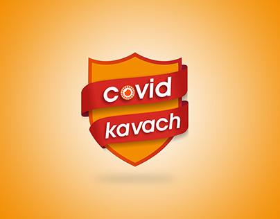 COVID KAVACH LOGO