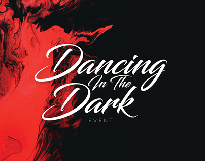 Dancing In The Dark Event • Pass & Microsite Design
