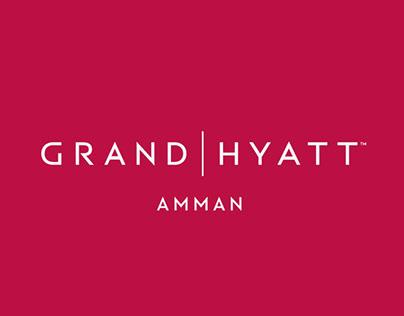 Grand Hyatt Amman Social Media Proposal