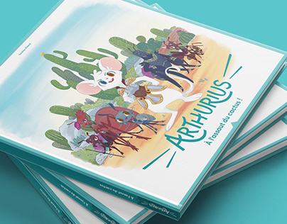 Arthurius – Branding, Book and Illustration