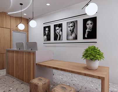 Nail Art Salon Interior Design Concept