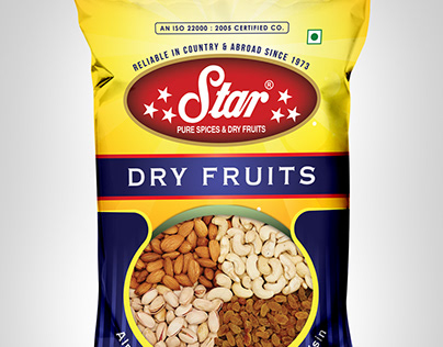 Packaging Design : Star Dry Fruits
