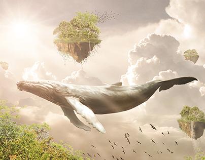 Legendary Whale   Photo manipulation