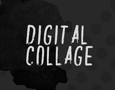 Digital Collage Work
