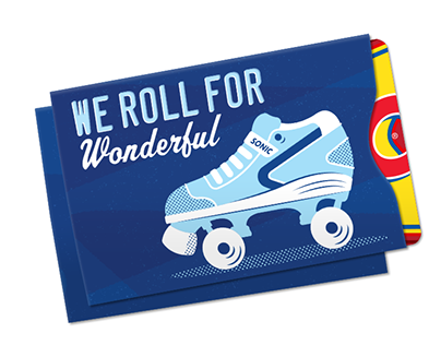 Sonic Drive-In Gift Card Sleeves