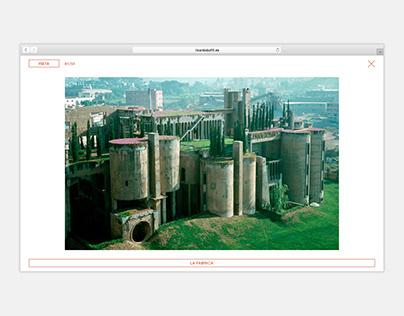 RICARDO BOFILL - Oficial Website